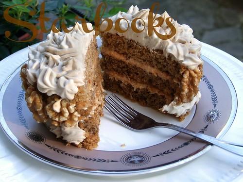 torta caffè e noci