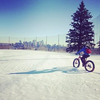 Fat biking @cawlinyyc