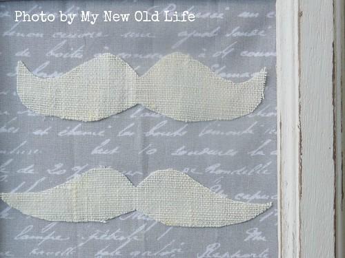 quadretto handmade mustache
