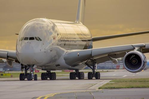 Malaysia Airlines 9M-MND A380 London Heathrow
