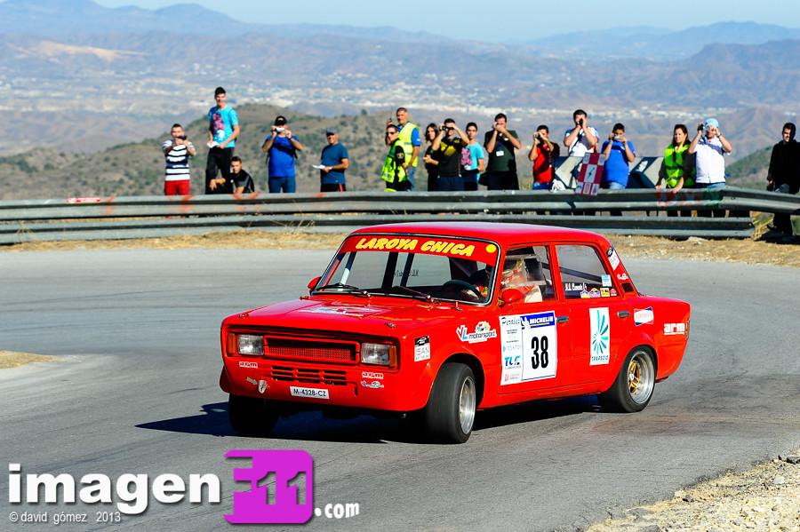 Campeonato de Andalucía de Montaña, Subida del Marmol, Miguel Angel Clemente, Seat 124