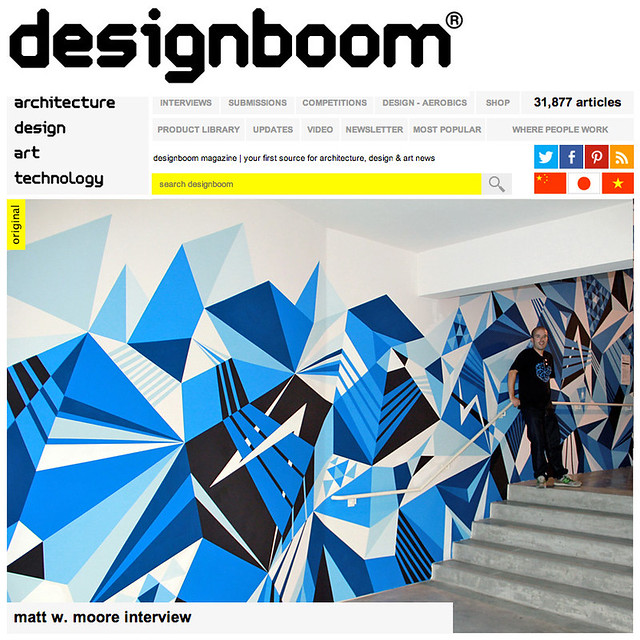 DesignBoom Interview.