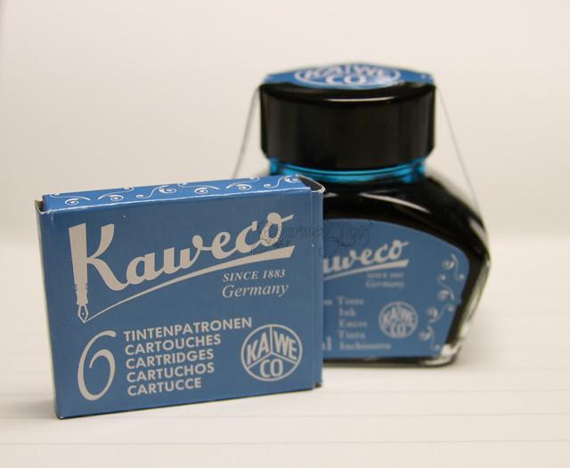 @Kaweco Turquoise/Paradise Blue Ink @JetPens