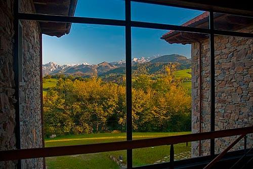 La Casona de Abamia (Cangas de Onís, Asturias)