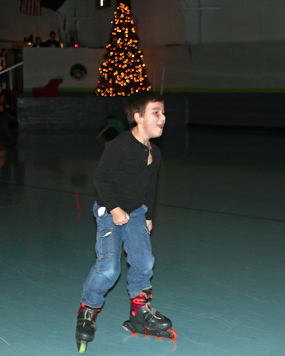 Mitchell skating