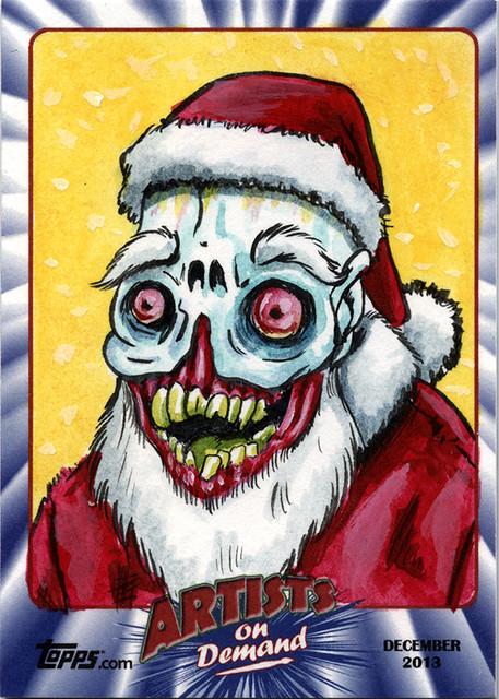 Topps AOD Ugly Santa: Frank