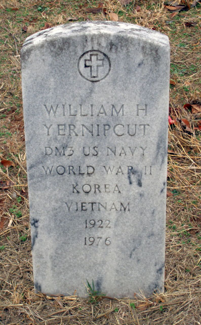 William Yernipcut by Cokeman2 on Find A Grave