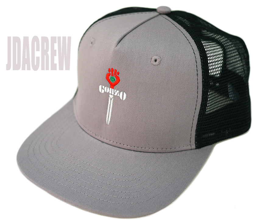 gonz grey trucker1