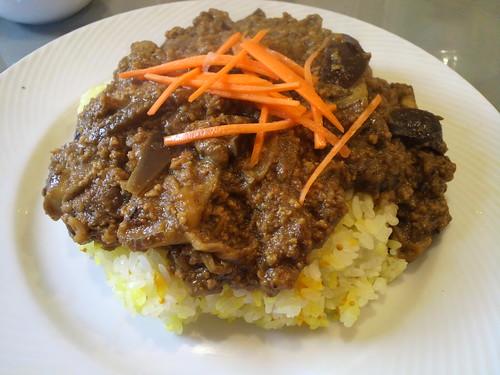 インドラ ナスとひき肉のカレー