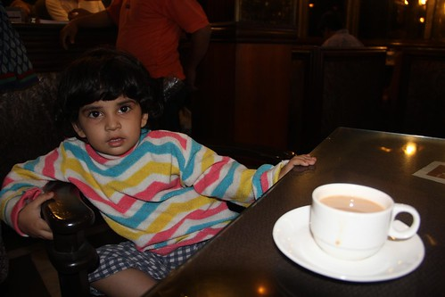 The Irani Chai At Lucky Hotel - Nerjis Asif Shakir 2 Year Old ,,, by firoze shakir photographerno1
