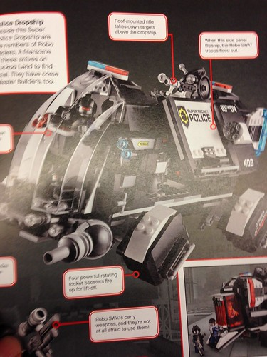 The LEGO Movie Police Dropship