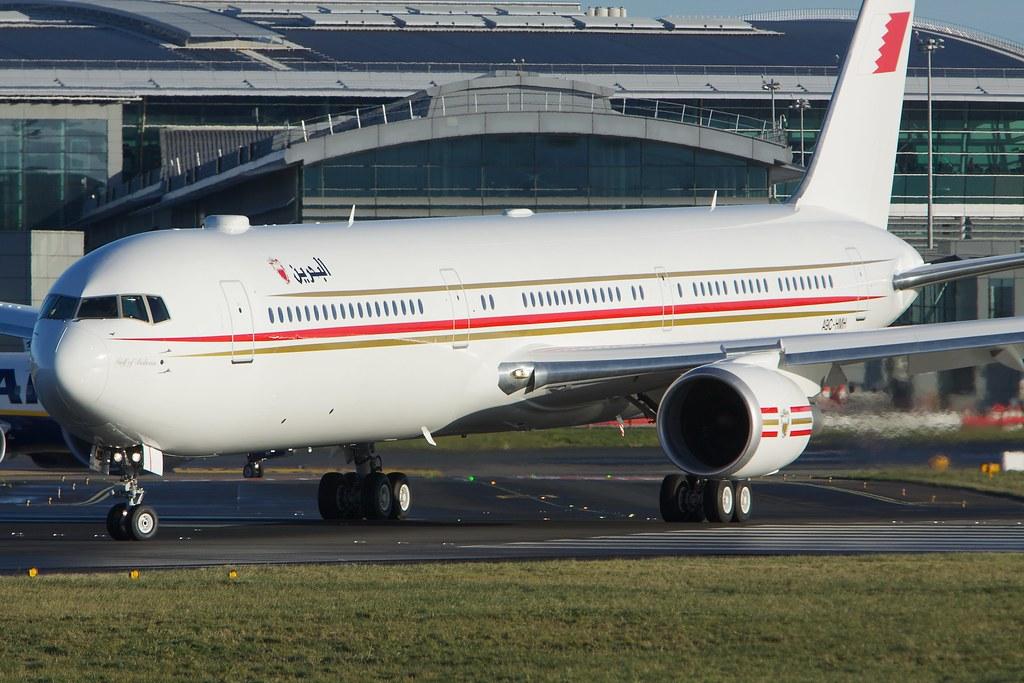 A9C-HMH - B764 - Bahrain Amiri Flight