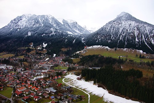 Flight over Oberstdorf