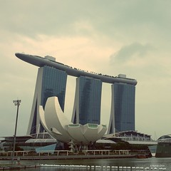 Singapore Art Science Museum.