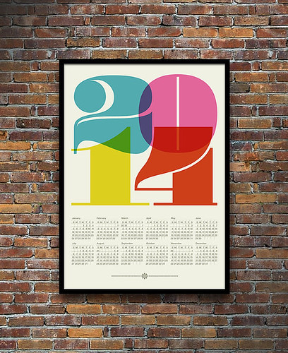 2014 calendar yumalum etsy