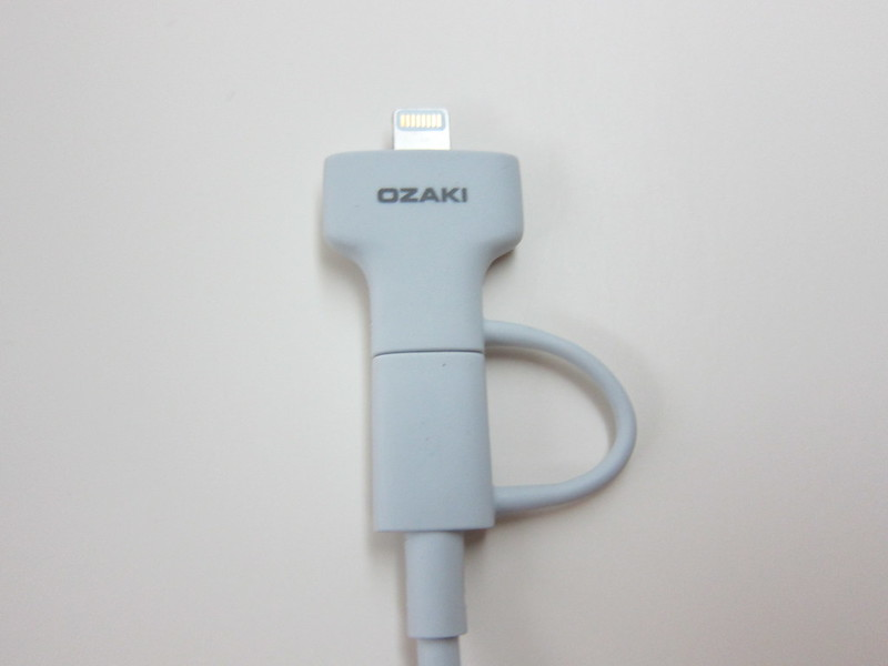 Ozaki O!tool Combo Cable - Lightning