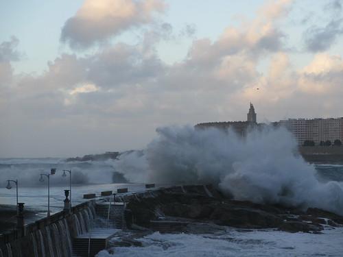 Temporal en Coruña by treboada