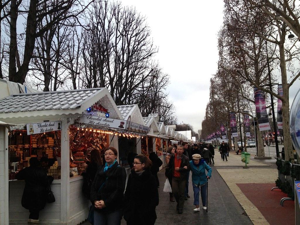 Christmas Market, Champs-Élysées