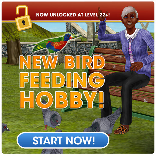 sims freeplay bird feeding hobby