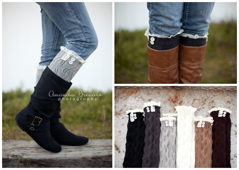 CoziBear Boutique Leg warmers | Raleigh, NC Product Photographer Amanda Brendle Photography