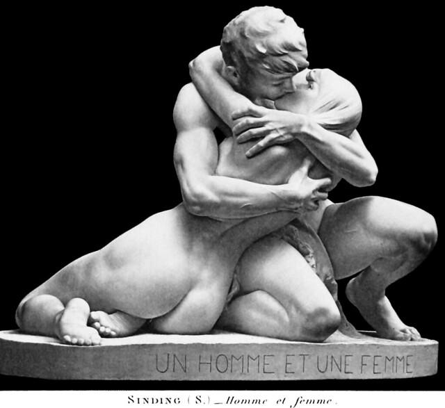 Stephan Sinding (1846-1922) - Un Homme et Une Femme (1891)