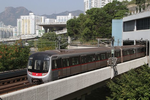 New 'C-Train' EMU in service on the MTR Kwun Tong line