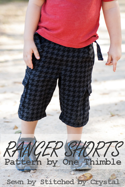 image regarding Printable Shorts Pattern titled STITCHED by means of Crystal: Ranger Shorts