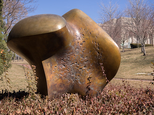three-way piece no. 1: points - henry moore