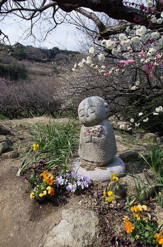 the stone statue