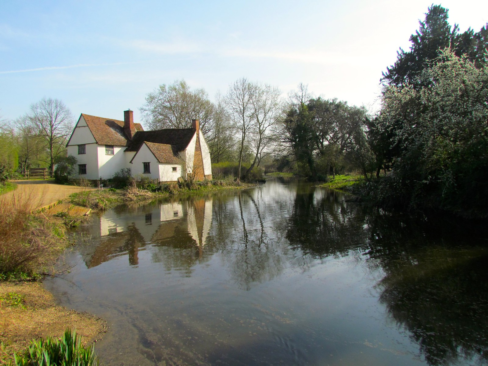 photo from walk Flatford Mill