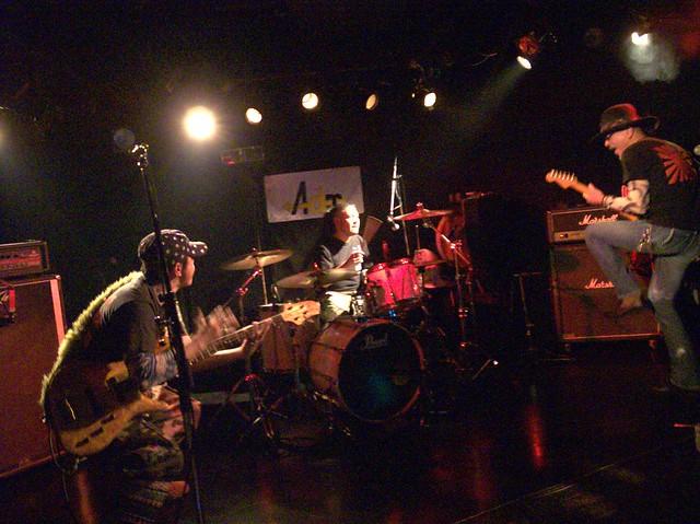 神風 KAMIKAZE live at Adm, Tokyo, 18 Apr 2014. 102