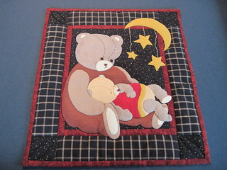 Bear Wool Applique