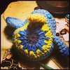 Cheep cheep birdie #1 almost done. 2 more to go! #easter #chick #birdies #crochet #cheepcheepbirdie