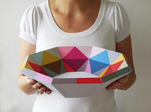 geometric-paper-bowl-diy