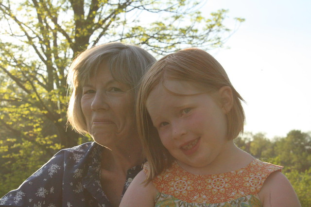 Tabby and Grandma