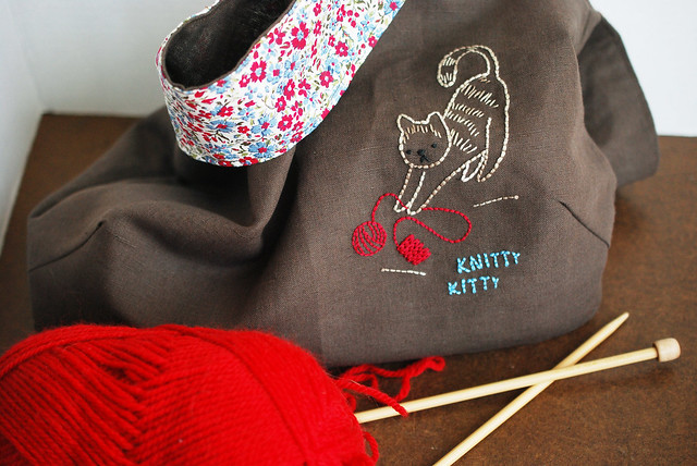 Knitty Kitty Bag