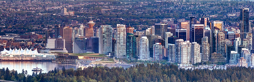 park city trees sunset urban panorama sun canada west green tower water yellow skyline vancouver canon buildings coast office downtown cityscape place pacific harbour centre sigma columbia stanley british coal vancity landsacpe nortwest