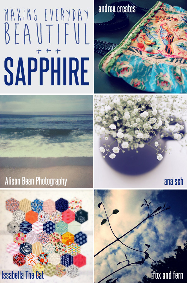 making everyday beautiful : sapphire | Emma Lamb