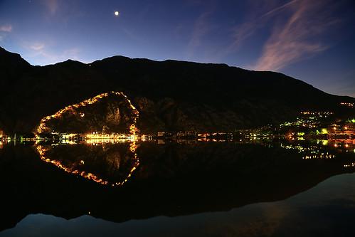 sunrise dawn mediterranean adriatic montenegro adria kotor crnagora cattaro црнагора котор