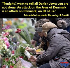 Denmark stands against anti-Jewish, anti-Israel hate.