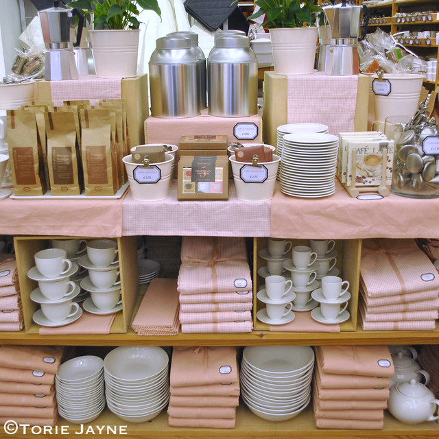 Pretty display at Ditte & Kamille