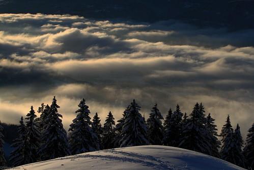winter snow alps nature alpes canon landscape eos hiver rando 7d neige nuages 74 frenchalps randonnée hautesavoie 74250 sapins raquettes lesbrasses stanus pointedemiribel megevette massifdesbrasses philippestanus