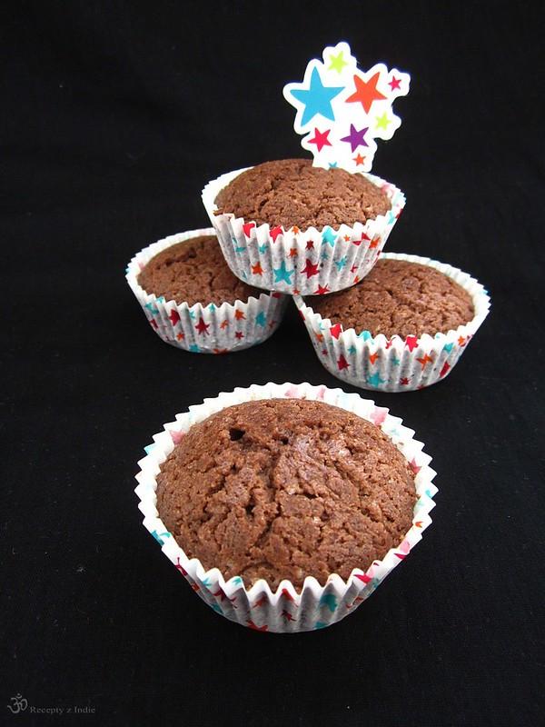 Cokoladpve cupcakes