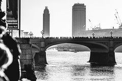 People Silhouettes   London