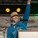 Start Banquet of the 2015 Yukon Quest in Whitehorse, Yukon.