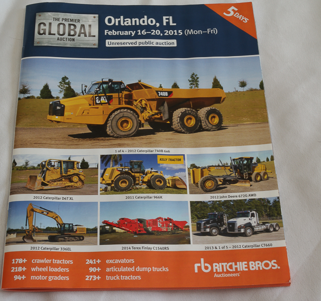 Ritchie Brothers Auction Brochure
