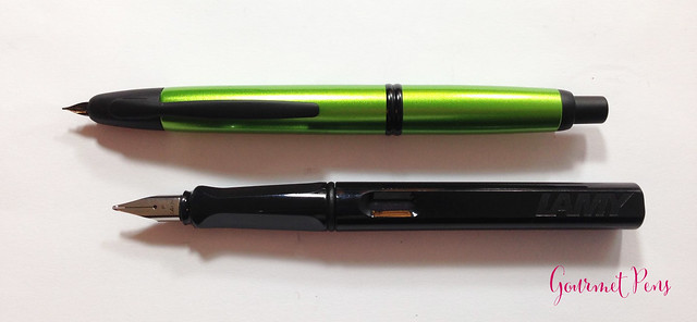 Review Pilot Vanishing Point Valley Green Fountain Pen @PilotPenUSA (4)