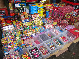 Told you they love fireworks here.  Guatemala.