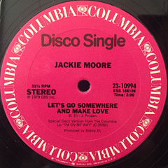 JACKIE MOORE:THIS TIME BABY(LABEL SIDE-B)