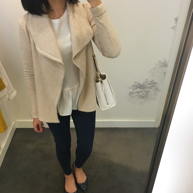 Lou & Grey Cozy Moto Jacket OOTD